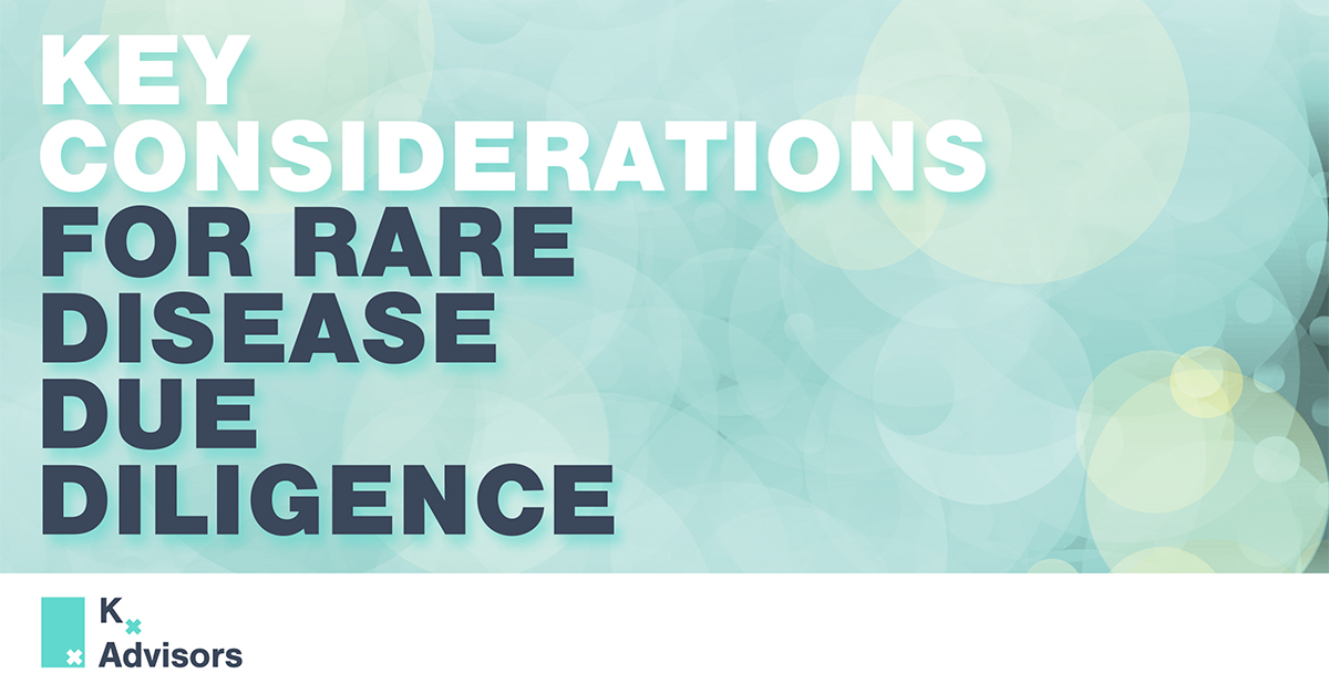 Rare Disease Due Diligence Cover