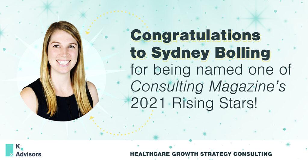 Congratulations to Sydney Bolling